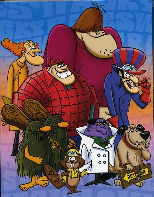 Affiche de la série Wacky Races