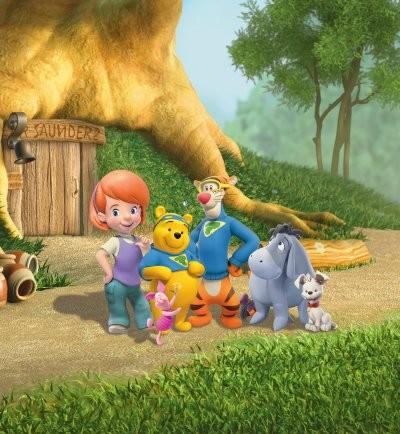Affiche de la série My Friends Tigger & Pooh