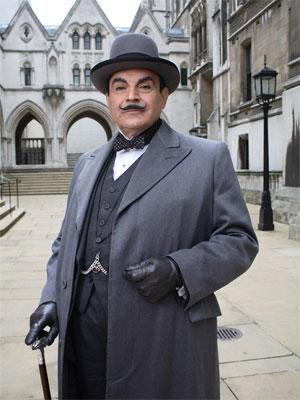 Affiche de la série Agatha Christie's Poirot