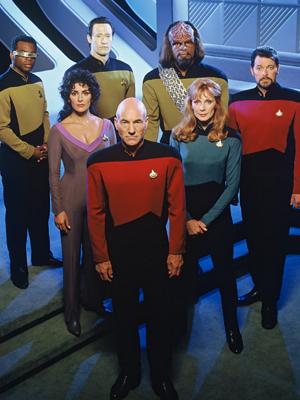 Affiche de la série Star Trek: The Next Generation