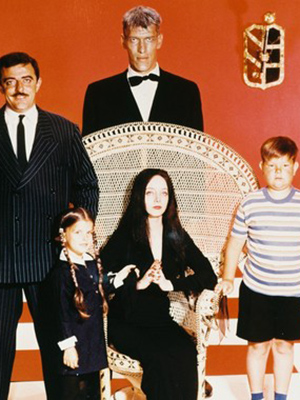 Affiche de la série The Addams Family