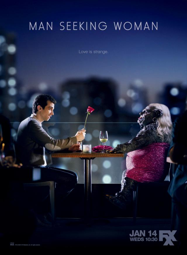 Affiche de la série Man Seeking Woman