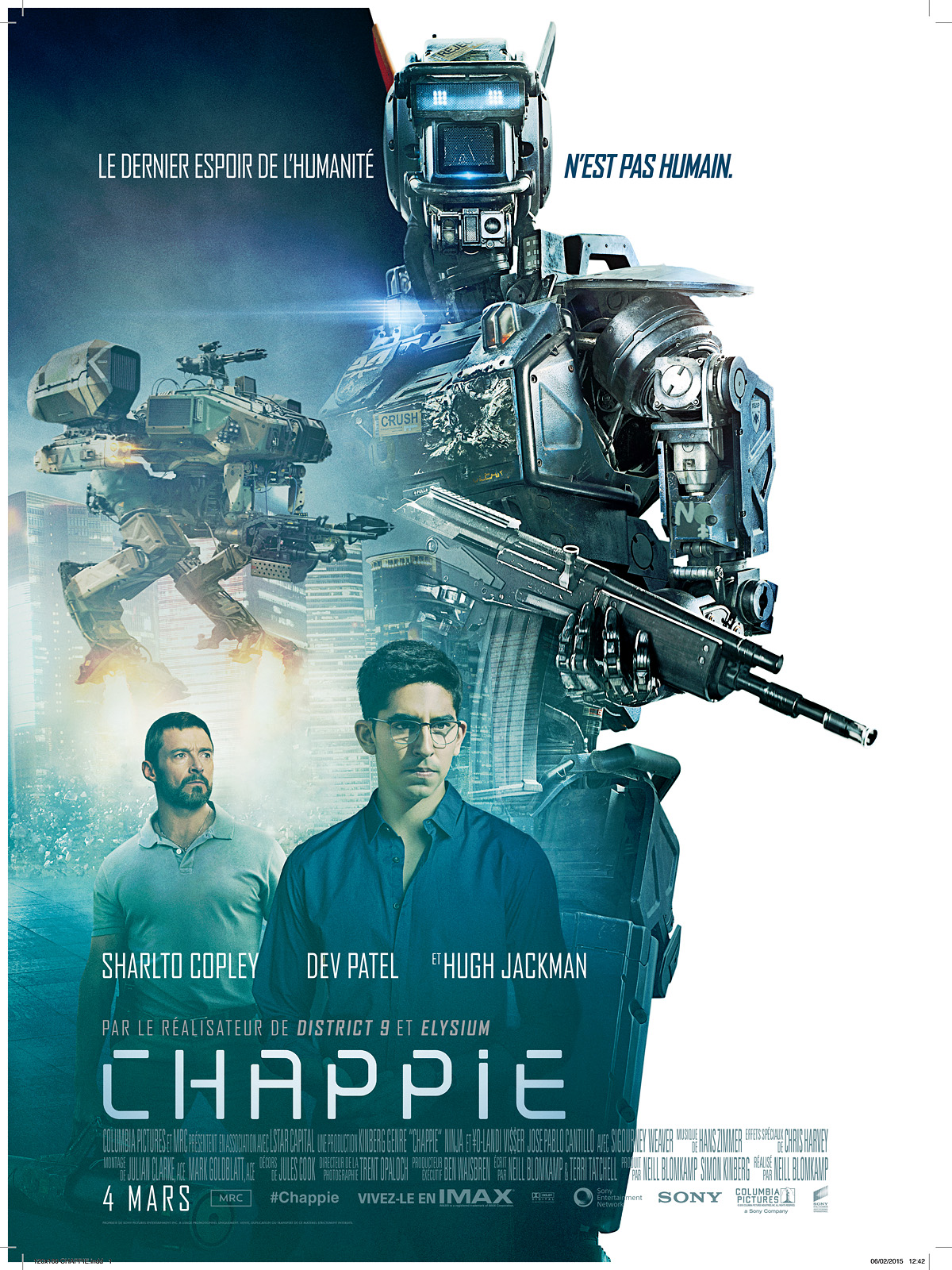 Télécharger Chappie HD VF