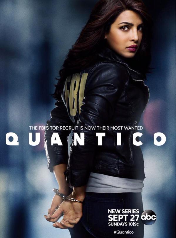 Affiche de la série Quantico