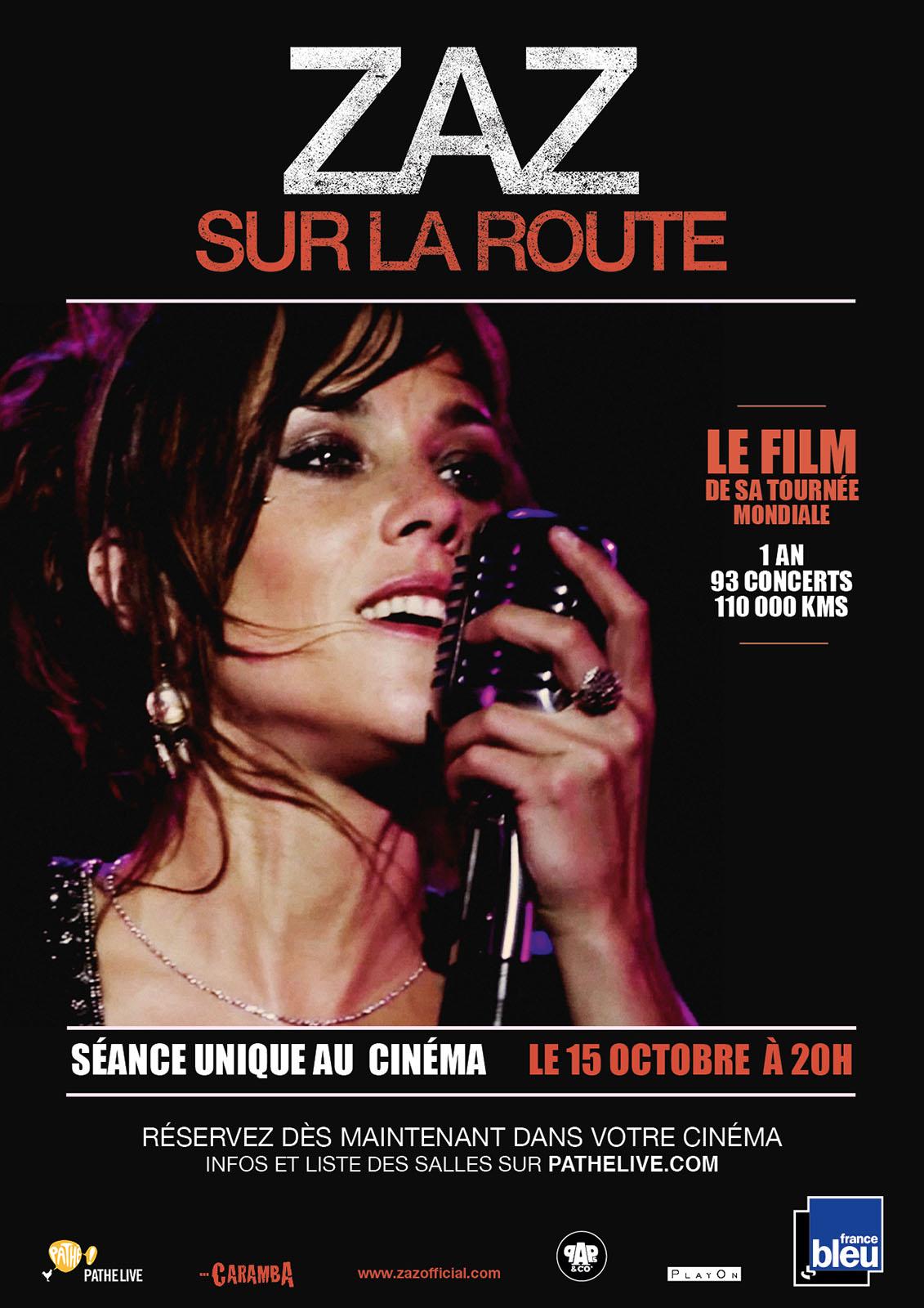 Télécharger Zaz - Sur la route (Pathé Live) HDLight 1080p Complet Uploaded