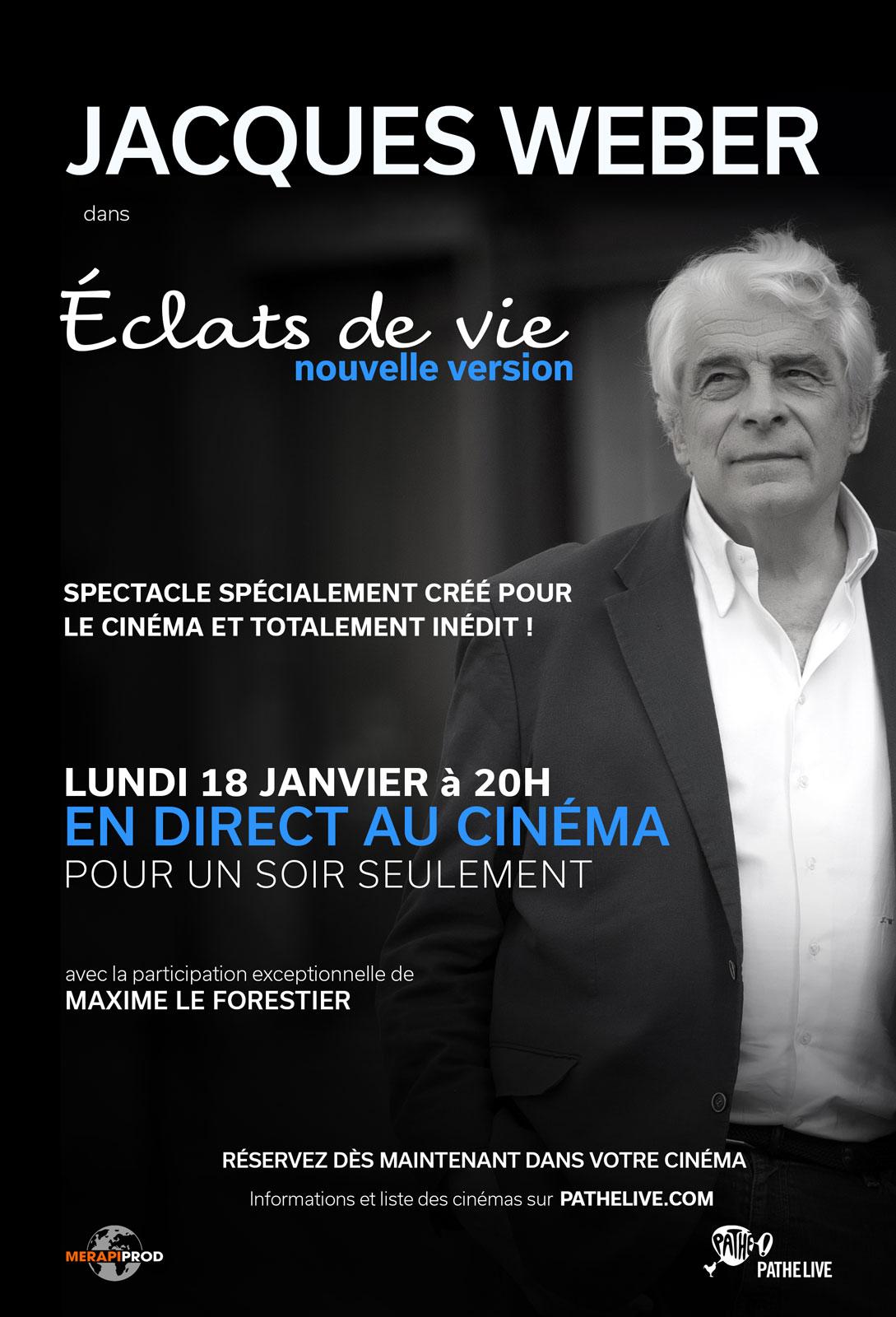 Télécharger Jacques Weber – Eclats de vie Gratuit Uptobox