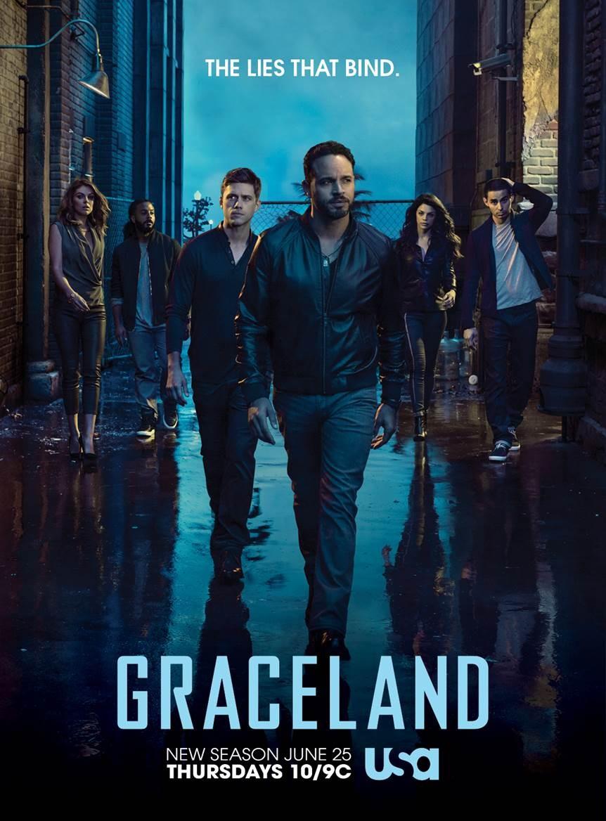 Affiche de la série Graceland