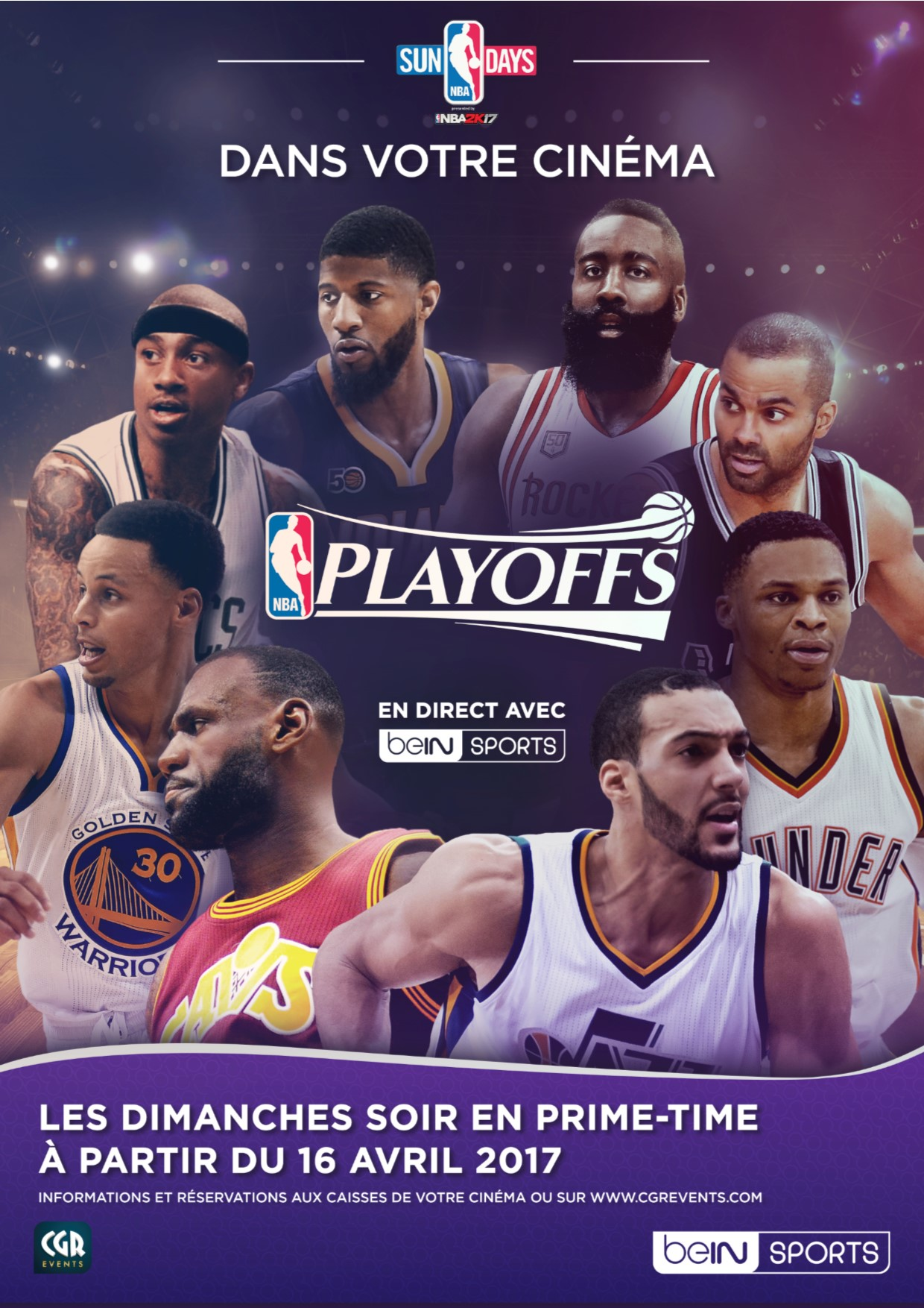 Télécharger NBA Playoffs 2017 (CGR Events) HD Uptobox