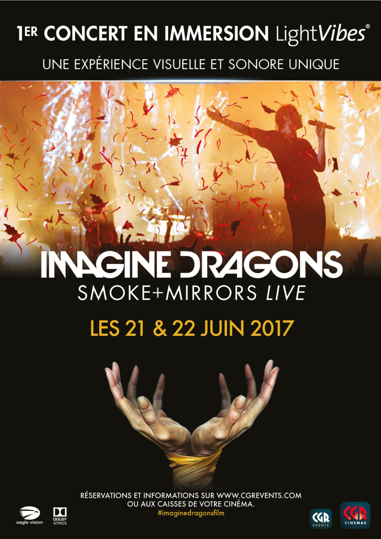 Télécharger Imagine Dragons - Smoke+Mirrors (CGR Events) HDLight 1080p Complet Uploaded