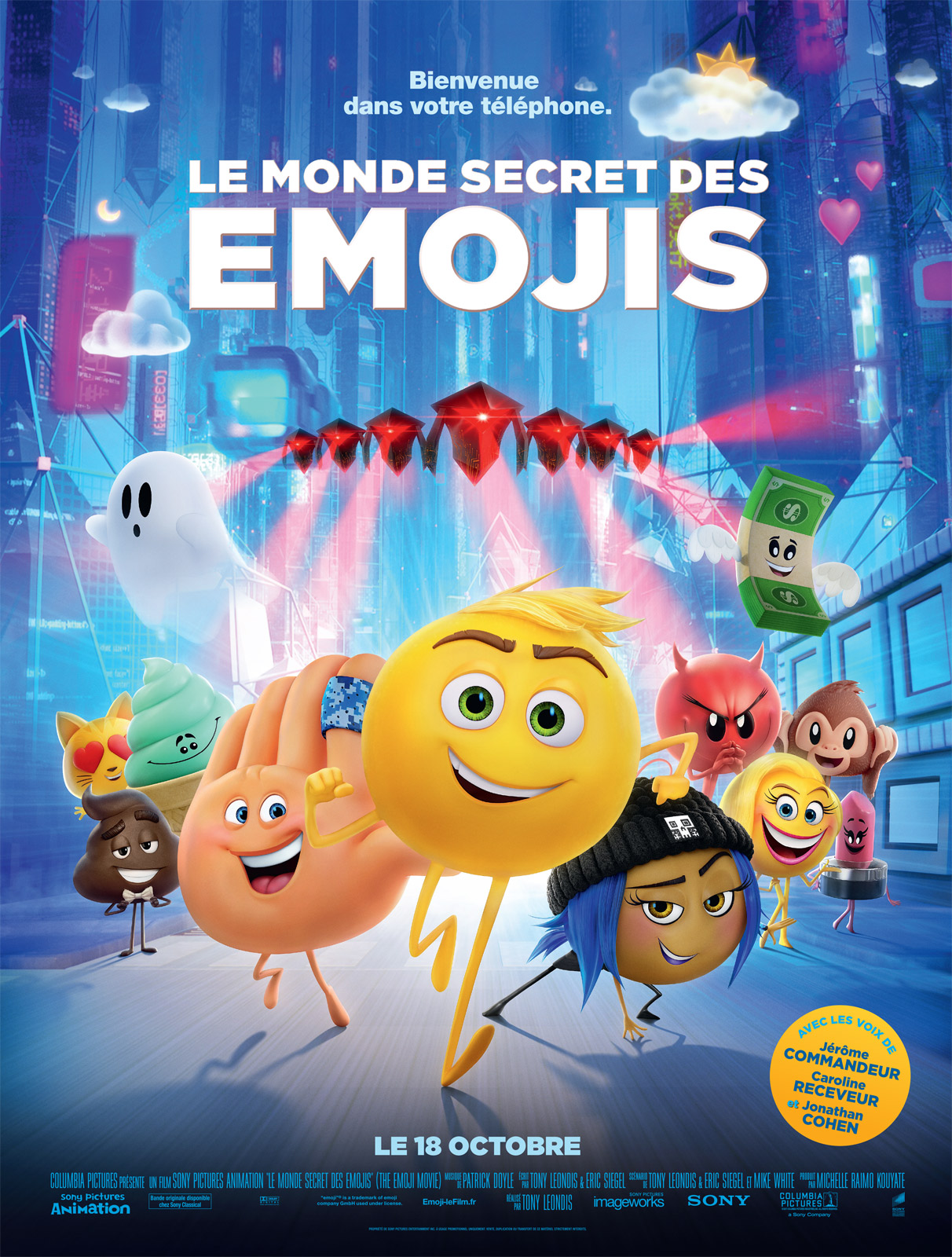 Le monde secret des emojis en streaming - Derriere la porte verte streaming gratuit ...