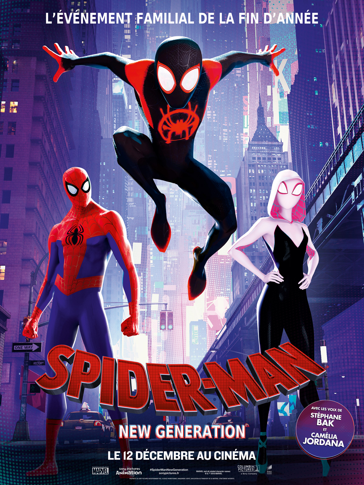 AfficheSpider-Man : New Generation