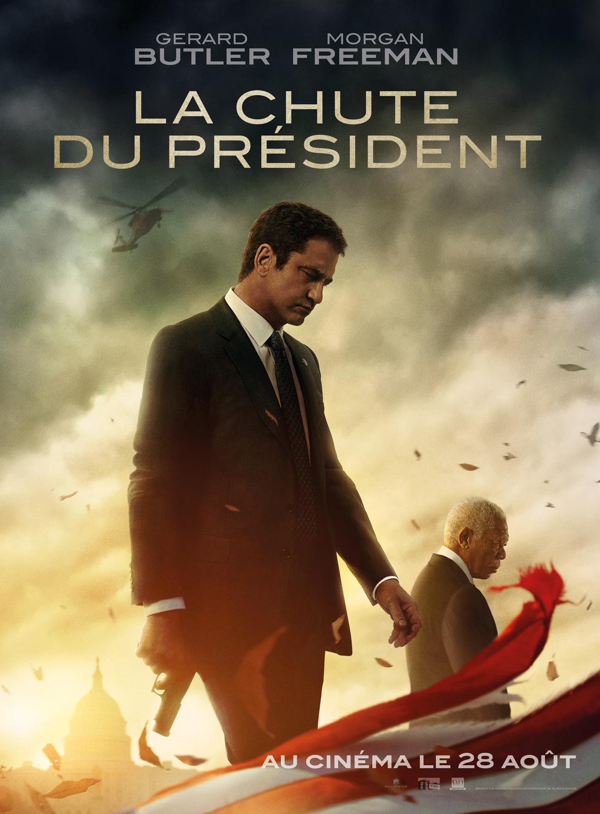 AfficheLa Chute du président