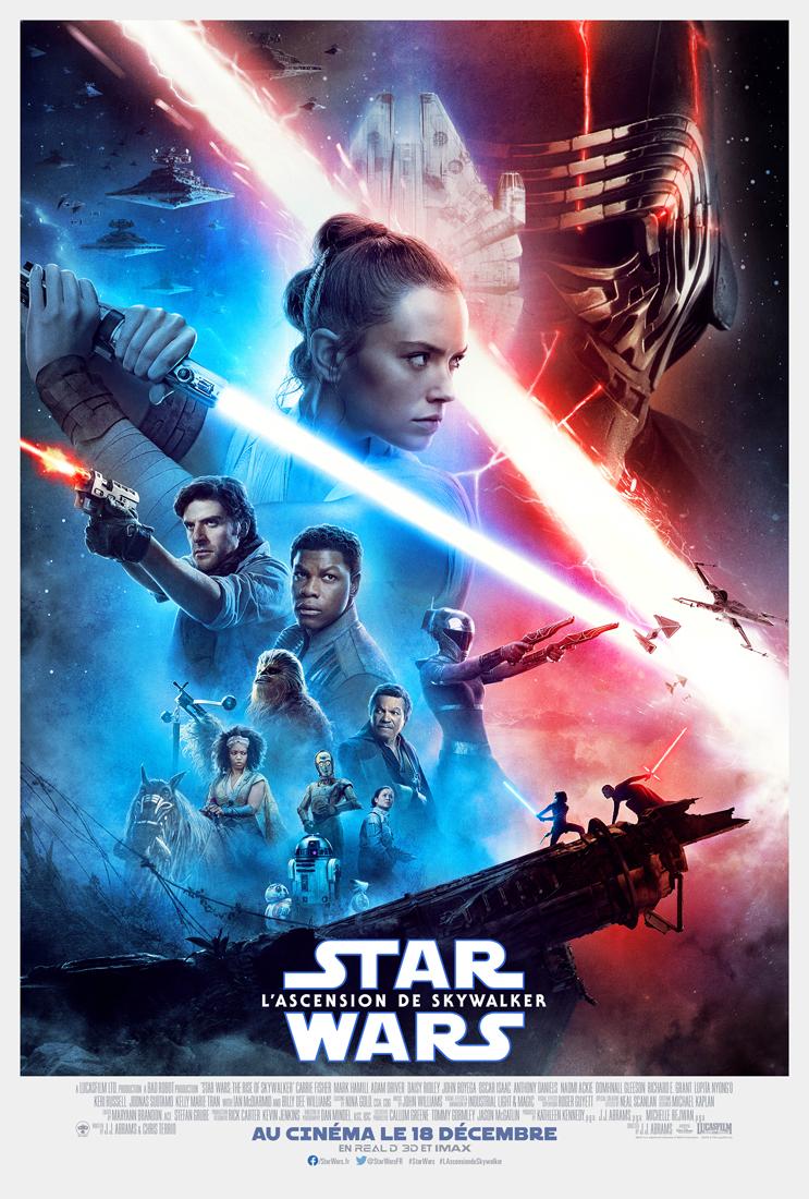 AfficheStar Wars: L'Ascension de Skywalker