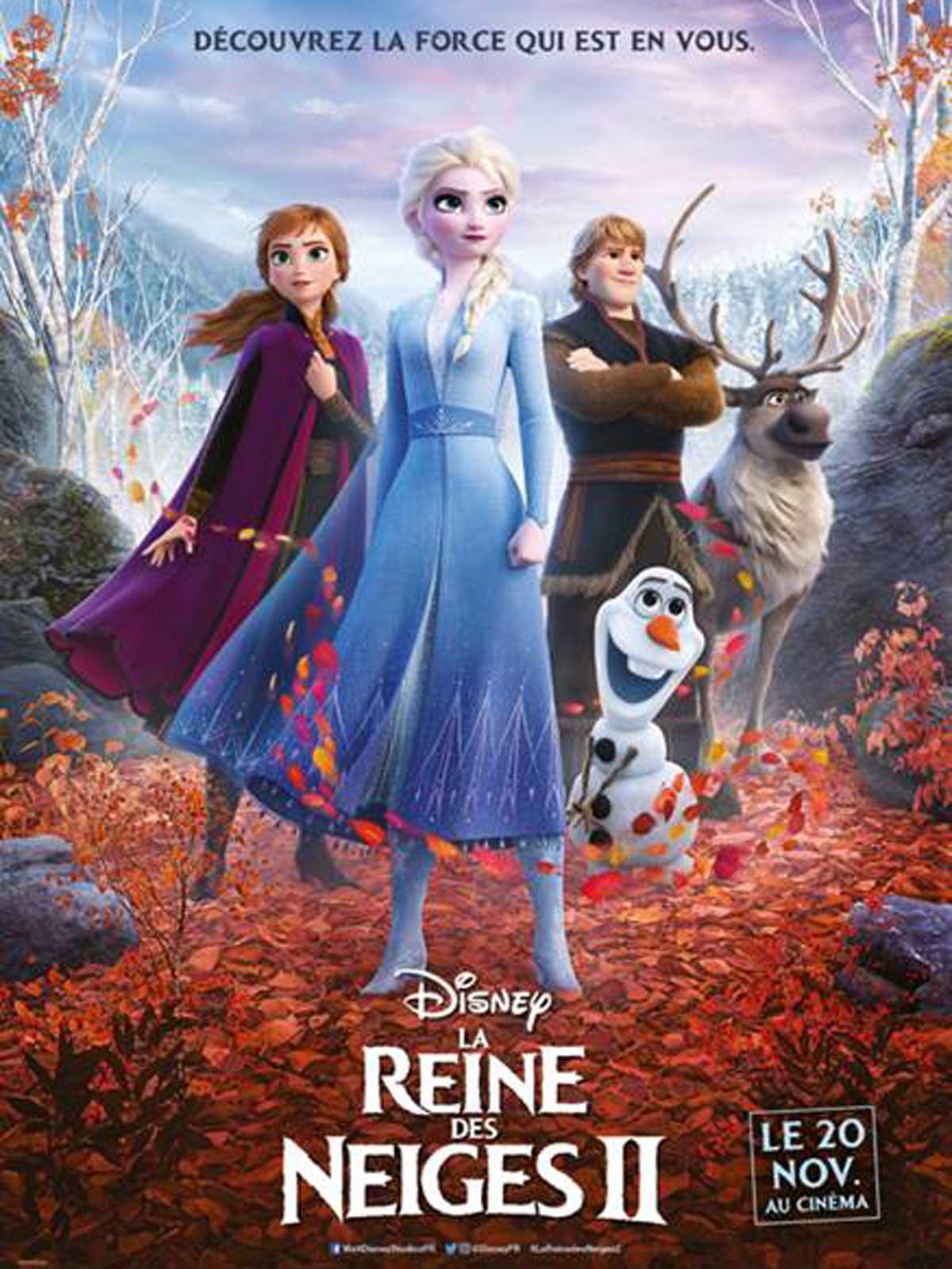 AfficheLa Reine des neiges 2