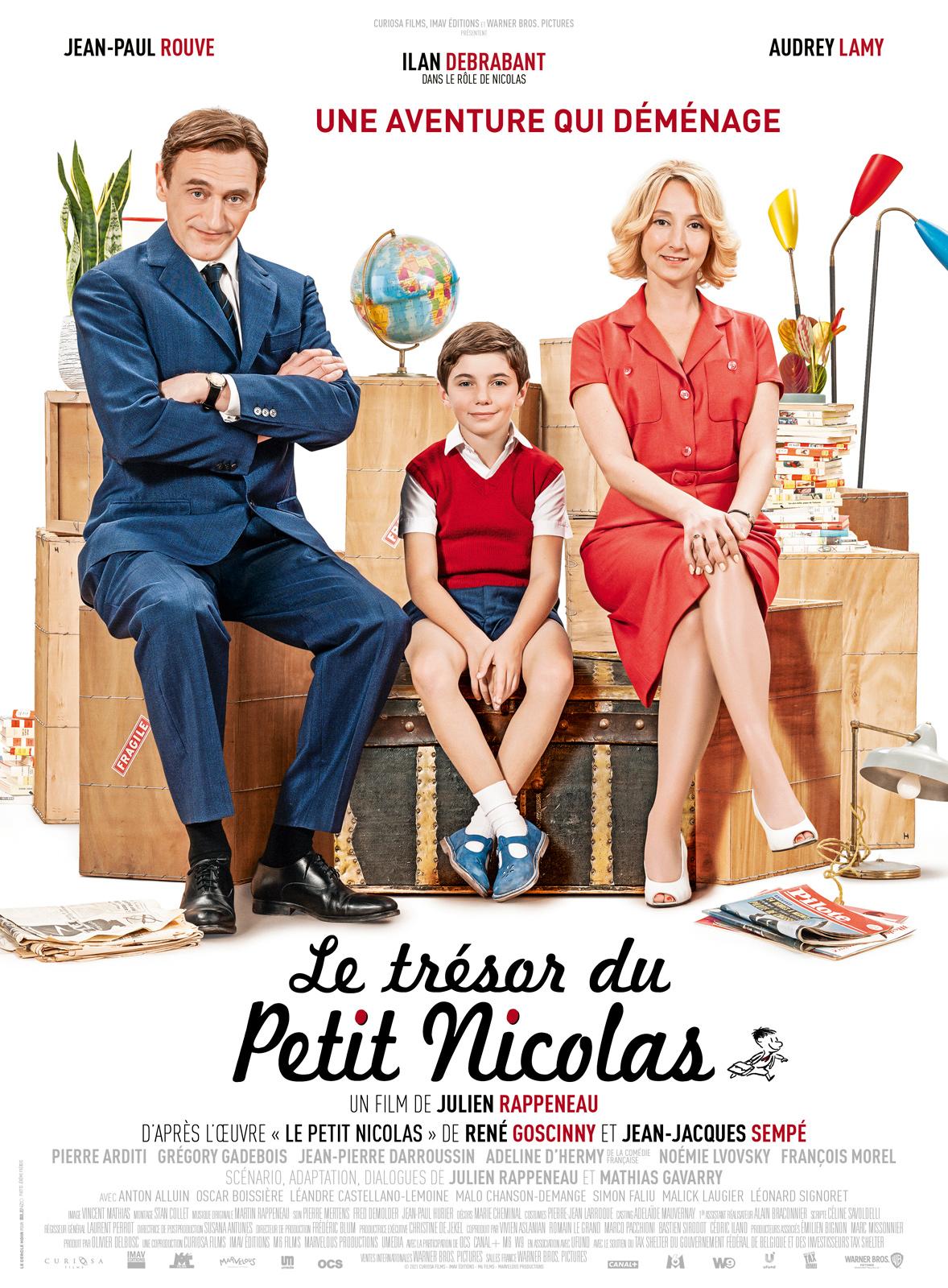 AfficheLe Trésor du Petit Nicolas