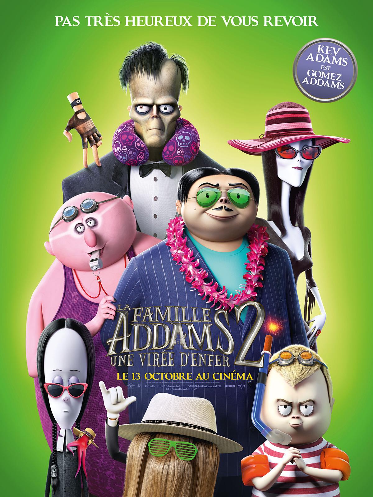 AfficheLa Famille Addams 2 : une virée d'enfer