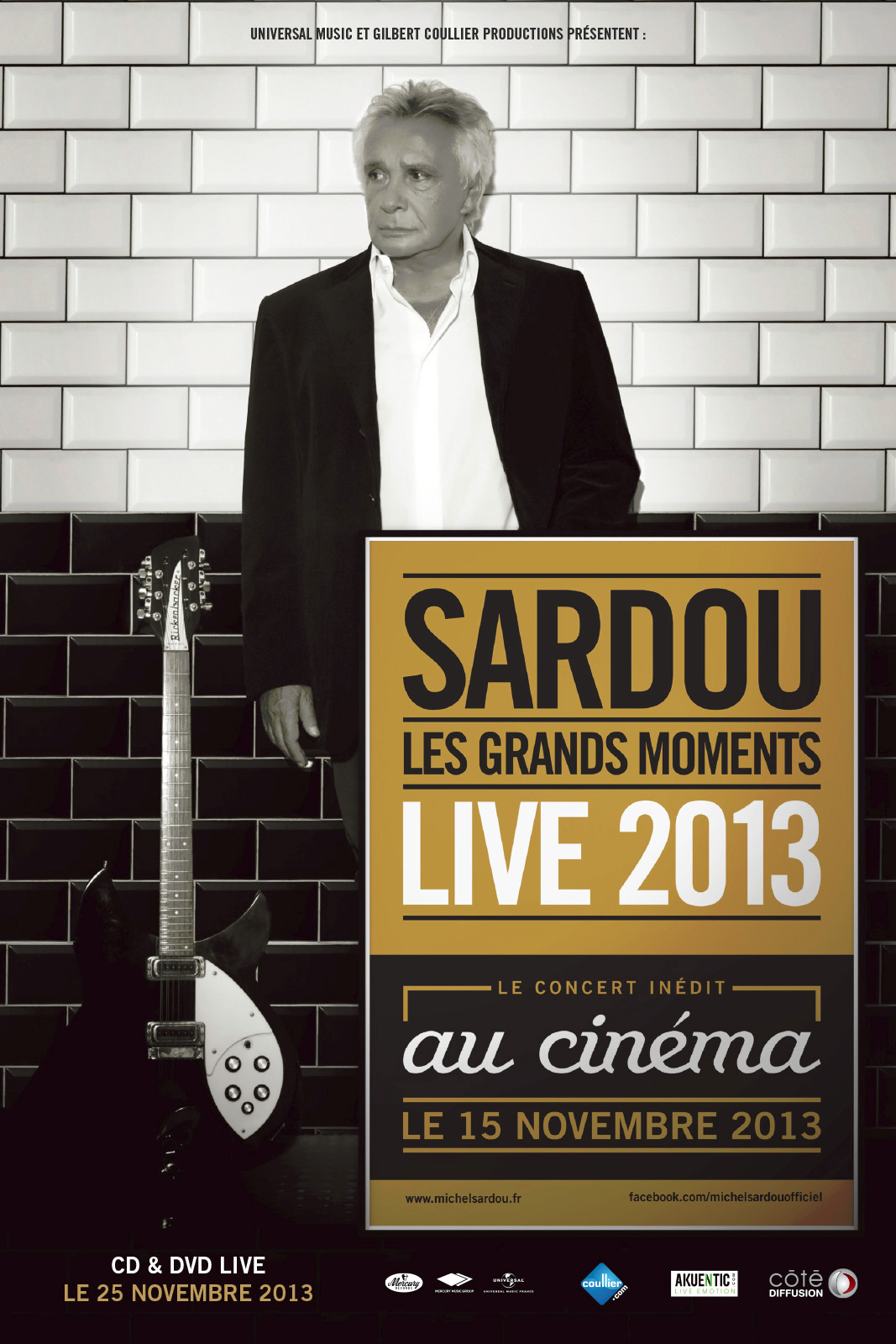 Télécharger Michel Sardou - live 2013 (Côté Diffusion) HD VF Uploaded