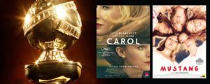 Nominations Golden Globes 2016 : Carol en tête, Mustang en lice...