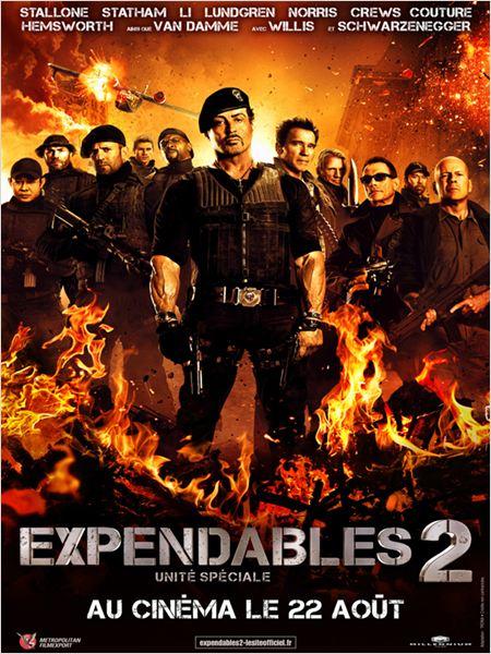 Expendables 2: unité spéciale ddl