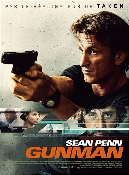 Gunman : Affiche